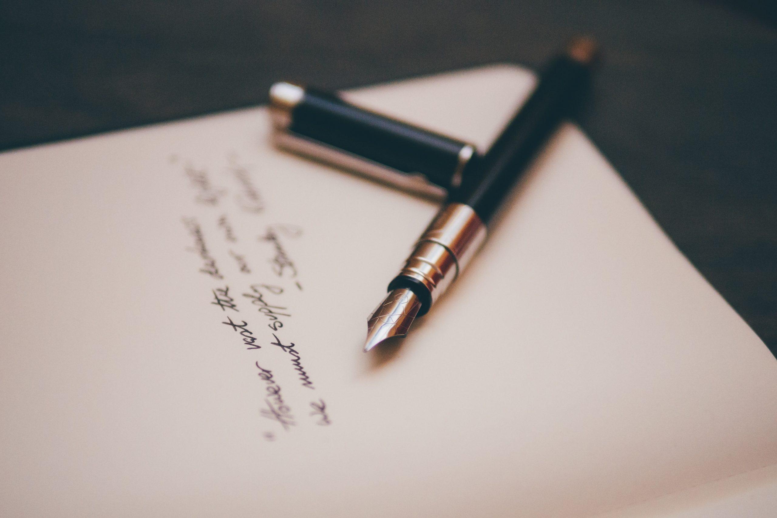 Comment rédiger une lettre de vente
