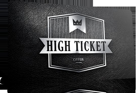 vendre du high ticket